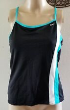 NIKE SWIMSUIT TOP size 10 with built in bra support
