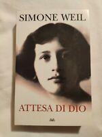LIBRO ATTESA DI DIO - SIMONE WEIL