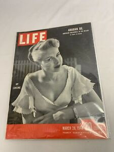 March 28, 1949 Life Magazine Fred Mac Murray ad, Boston Braves Joy Lansing Good