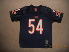 Chicago Bears Nfl Football Jersey #54 Brian Urlacher Reebok Youth Large Blue Mnt