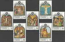 Timbres Religion Paques Grenade Grenadines 198/204 o lot 2519