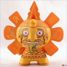 Kidrobot Dunny 2011 Azteca series Gold Calendario by Beast Brothers vinyl figure