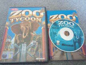 Zoo Tycoon for PC CD ROM Windows Original Release Complete