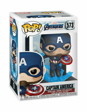 Funko Pop! Movies: Avengers: Endgame - Captain America Vinyl Figure