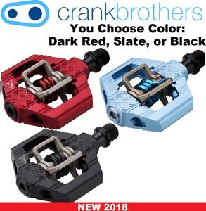 Crank Brothers Candy 3 Clipless Bike XC Trail Pedals & Cleats Bros Choose Color