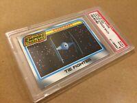 1980 Topps Star Wars Empire Strikes Back Tie Fighter Darth Vader PSA 9 Mint!