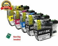 5Pk LC-3011 Ink Cartridge For Brother LC3011 MFC-J491DW MFC-J690DW MFC-J497DW