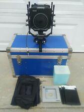 Cambo Sc 4x5 Monorail Film Camera With Case & Accessories