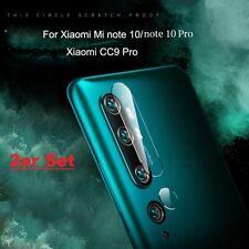 2x Xiaomi Mi Note 10 | Pro (Kamera) Schutzpanzer Glasfolie Panzerfolie Schutz