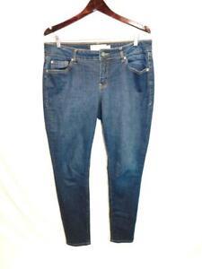 Torrid Size 12 R Curvy Skinny Blue Jeans Super Stretch Denim Mid Rise 12R