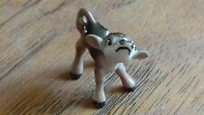 Vintage Hagen Renaker Monrovia calf baby cow farm horn ceramic miniature animal