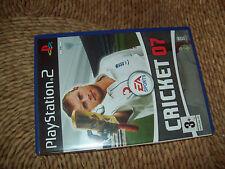 """A RARE """"CRICKET 07"""" (Sony PlayStation 2, 2006)"""