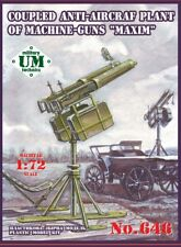 UMT — Coupled anti-aircraft plant — Plastic model kit 1:72 Scale #646