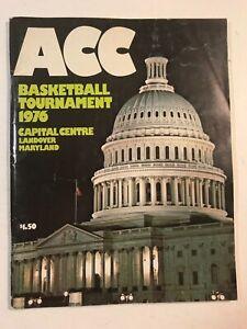 ACC Basketball Tournament 1976 Program