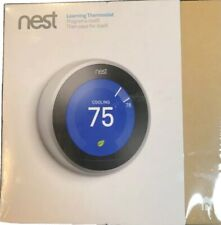 NEST LEARNING THERMOSTAT 3RD GENERATION T3007ES BRAND NEW FACTORY SEALED!!