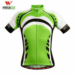 Men's Summer Cycling Jersey Shorts Outfits Bike Riding Teamwear Short Sleeveed