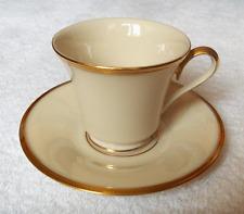 Lenox fine china Eternal dinnerware pattern cup and saucer set~Pristine-NR