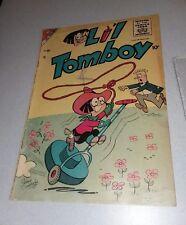 Lil Tomboy # 94 golden age 1956 Charlton Comics cartoon classic key book rare