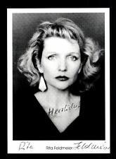 Rita Feldmeier Autogrammkarte Original Signiert # BC 74139
