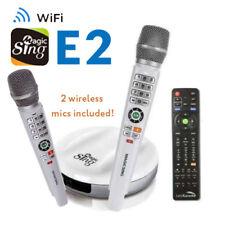 Magic Sing E2 WiFi TWO Wireless Karaoke Mic ENG + 2MON Tagalog Hindi Spanish ..