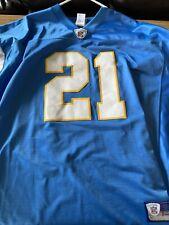 Reebok Ladanian Tomlinson San Diego Chargers Powder Blue Mens Jersey Size XL