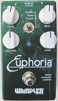 Used Wampler Euphoria Overdrive Guitar Effects Pedal