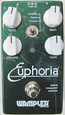 Used Wampler Euphoria Overdrive Guitar Effects Pedal!