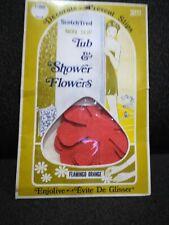 RARE 3M ORIG. FLOWER POWER HIPPIE RETRO 70s NON-SLIP TB & BATH SHOWER 11-STICKER