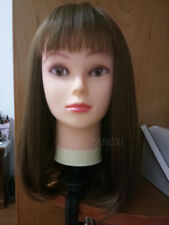 Silicone Mannequin PVC Manikin Dolls Head Mannequin Head For Wigs Hat Display