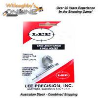 Lee Precision 22-250 Remington Case Length Gauge & Shell Holder Reloading Gear