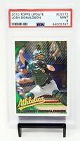 2010 Topps Update RC Twins Star JOSH DONALDSON Rookie Baseball Card PSA 9 MINT
