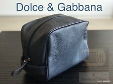 369a2e2ce416 🆕💙💜D G TOILETRY WASH BAG DOLCE GABBANA MENS NAVY SHAVE TRAVELPOUCH  AUTHENTIC