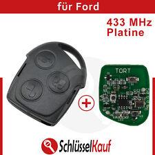 Ford Funkschlüssel Fernbedienung 433 MHz Platine Auto Mondeo Focus Puma Fiesta