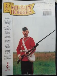 MILITARY HOBBIES NO. 34 - DECEMBER 1993 - JANUARY 1994 - NAPOLEONIC SWEDISH