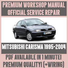 *WORKSHOP MANUAL SERVICE & REPAIR GUIDE for MITSUBISHI CARISMA 1995-2004