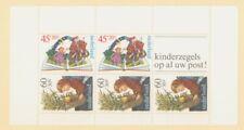 Netherlands Scott B567a Children Reading Books MNH Souvenir Sheet