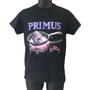 Primus Frizzle Fry Men's T Shirt Black Logo Album Tour Vintage Retro