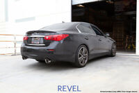FOR 2014-2017 INFINITI Q50 REVEL MEDALLION TOURING AXLEBACK EXHAUST SYSTEM