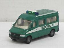 """Mercedes-Benz Sprinter Bus in grün """"Polizei"""", ohne OVP, Siku 0804, 1:64 ?"""