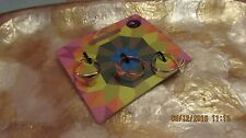 on presentation card, costume jewellery set of 3 coordinating fashion rings