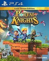 Portal Knights Gold Throne Edition (Sony PlayStation 4,2017) BRAND NEW FAST PS4