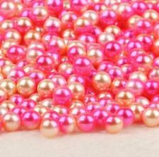 ABS round imitation pearl non-porous beads DIY handmade clothing accessories