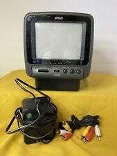 """RCA 16-3000 Compact 5"""" Inch Color Crt Tv Monitor Av RCA Video Input"""