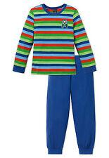 Schiesser Niños Pijama tractor 100% Algodón 104 116 128 140 NUEVOS
