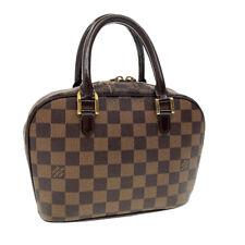 LOUIS VUITTON Damier Ebene Sarria Mini Hand Bag N51286 LV Auth pg1321
