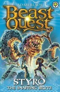 Beast Quest: Styro the Snapping Brute by Adam Blade   **NEW PAPERBACK**