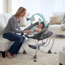 Baby Glider Bassinet Crib Gliding Swing Newborn Child Nursery Furniture Sleeper