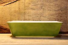 Vintage Pyrex Refrigerator Dish 0503 1.5 Qt Verde Avocado Green 503-C Very Nice