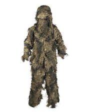 Mil-Tec Tarnanzug Ghillie Suit Anti Fire 4PC Basic M-XXL Camouflage Camo Anzug