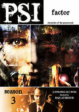 PSI Factor: Chronicles Of The Paranormal - Season 3 (DVD, 2008, 5-Disc Set) NEW